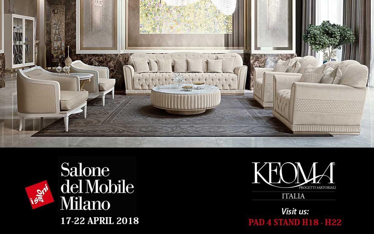 Salone del mobile milano 17 22 aprile 2018 keoma italia for Eventi milano aprile 2017